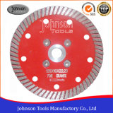 125mm Hot Press Sinterizado Turbo Saw Blade Granite Cutting Blade