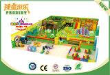 Спортивная площадка роскошного оборудования лабиринта занятности мягкого крытая с Trampoline