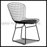 流行のシェルのクッションUpholstory (SP-MC021)が付いている整形金属線の椅子