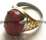 Gietende Ring van de Tegenhanger van de Juwelen van de Steen van de manier de Zwarte