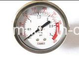 Jauge de pression d'accessoires de compteurs d'eau pour l'eau Usine de traitement