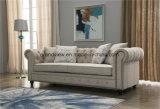 Tessuto di legno classico 3 Seater di stile americano dell'oggetto d'antiquariato della mobilia del salone