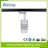AC100-240V 2 3 4 Alambre 15W LED Galería Luz de pista