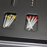 Bornes 1.2mm de vidro dentais da fibra do anel do volume da linha de parafuso