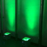 Rasha 4*15W 5in1 Rgbaw紫外線電池式のWiFi APP Irc LEDの同価ライトスマートな移動式段階ライト