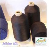 hilado Textured 100% del poliester 150d para los calcetines del balompié