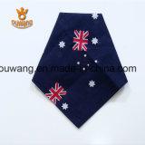 卸し売り国旗の印刷された綿の正方形のスカーフ