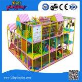 Спортивная площадка капризного замока малыша парка атракционов детей крытая продавая наилучшим образом во всем мире
