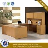 Escritorio de oficina ejecutiva grande de la talla de la estructura de los muebles de madera de Offce (HX-N0109)