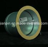 調節可能なダンパーが付いているダクティングの鋼鉄円形の栓