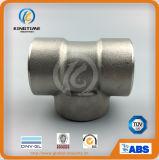 La norme ASME B16.11 forgée en acier inoxydable de haute pression de la soudure de Socket T égal (KT0525)