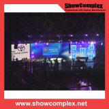 Schermo di visualizzazione dell'interno del LED dell'affitto di colore completo di P3 HD per il congresso (con linsn)