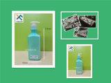 blaue Shampoo-Bad-Gel-Flasche des Haustier-250ml mit freier Pumpe