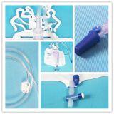 Wegwerf-Urin-Messinstrument-Beutel Belüftung-400+2000ml mit Querabflußventil