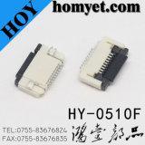 conector de la echada FPC de 0.3mm/0.5mm/1.0m m (HY-0554F)