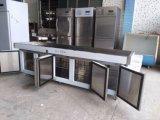 Refrigerador modificado para requisitos particulares del vector de trabajo de acero inoxidable