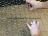 Maille hexagonale de fil d'acier avec le prix concurrentiel