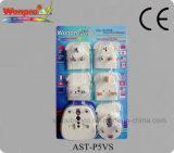 보편적인 여행 접합기 소켓, 플러그 (AST-P5VS)