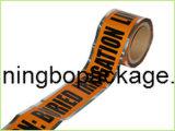 Nastro d'avvertimento di avvertenza dello SGS Undergroud per uso rilevabile del tubo