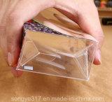 Caixa UV transparente do pacote da impressão do PVC