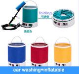 12V auto voiture pulvérisateur de cire clair laver avec de l'inflation de l'air