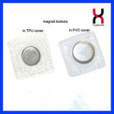 磁気ボタンを縫うPVC 20*2mm
