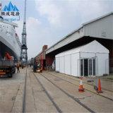 barraca do armazenamento do armazém da estrutura da liga de alumínio grande para industrial