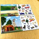 Crianças que aprendem cedo a impressão do livro com saco de OPP