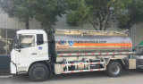 4X2 기름 수송 트럭 15000L 알루미늄 합금 연료 유조 트럭