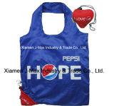 Sacchetto pieghevole del cliente, sacchetti di promozione, stile del cuore della Pepsi-cola, sacchetti riutilizzabili, leggeri, di drogheria e pratico, regali, promozione, sacchetto di Tote, decorazione & accessori