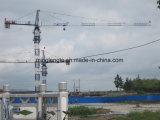 55mのジブ、8tのTc5513アルジェリアの真新しい自己建設のTopkitのタワークレーン