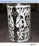 Fabrik-Fertigung-Kunst-spezieller Entwurfs-runde Edelstahl-Tisch-Möbel