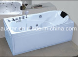 1700mm Rectangle Corner Massage Bathtub SPA met Ce RoHS (bij-0746)