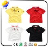 Coton 100% coton coloré et de haute qualité en t-shirt et chemise pour enfants et chemise et chemise polaire pour vêtements et produits promotionnels