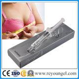 Injection cutanée de remplissage d'acide hyaluronique pour le perfectionnement de fesses