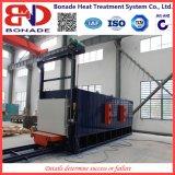 focolare del carrello ferroviario 300kw che tempera fornace per il trattamento termico