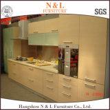 ヨーロッパの食器棚の食器棚の純木の模造