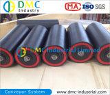 Rueda Loca del Transportador del Negro del HDPE del Sistema de Transportador del Diámetro de 127mm