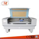 高速ガイドの鉄道(JM-1280T-CCD)が付いている科学技術レーザーCutting&Engraving機械