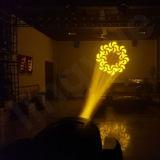 DMX DJ encenam luz movente do feixe do diodo emissor de luz da cabeça 200W