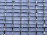 ステンレス鋼のひだを付けられた建築網