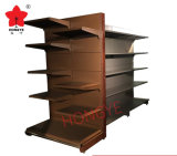 スーパーマーケットの二重側面の頑丈な表示金属の棚(HY-103)