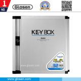 Petite clé en métal pour 32 ID de cas de gestion de clés