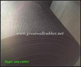 Gw3007 만리장성 ISO9001를 가진 고무 끈목 패턴 고무 매트