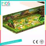 Дерево дом для использования внутри помещений детская игровая площадка с батут (HS15101)