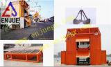 Grano movible en contenedor Weiging y unidad del empaquetamiento de la empaquetadora