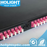 Panneau de raccordement de fibre optique pour ODF MPO/MTP pour LC