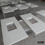 Cer-Zustimmungs-feste Oberfläche kundenspezifische Badezimmer-Eitelkeits-Oberseite für Hotel