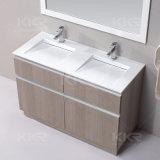 Mercadorias sanitários da bacia de pedra de superfície contínua do gabinete de banheiro
