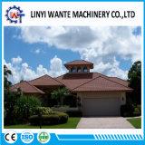 Nariz de precisión el material del techo de metal revestido de piedra y techo de teja/títulos